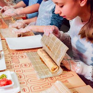 Kids Japanese Sushi Making