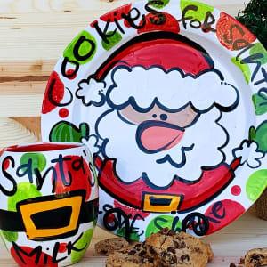 Cookies for Santa: Plate + Cup Set