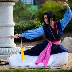 Meet Warrior Princess Hua Mulan