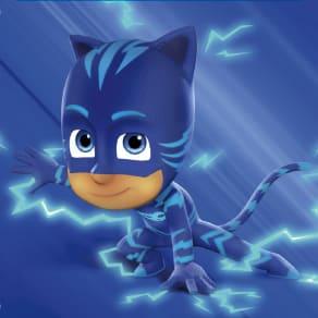 Catboy from PJ Masks Visit