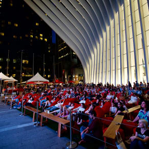 Tribeca Drive In presents Westfield Dinner & a Movie