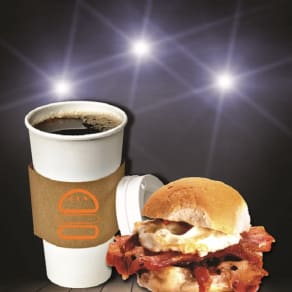 Breakfast Special: $4.99 Bacon, Egg & Cheese with Coffee