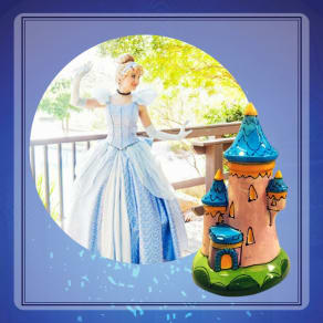 Paint with a Princess: Castle Banks with Cinderella