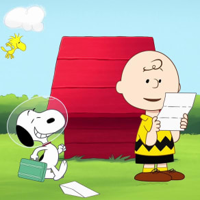 Go To Space With Snoopy