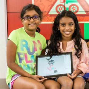 Microsoft Girl Scout Badge Program