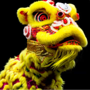 Lion Dance to Brookfield
