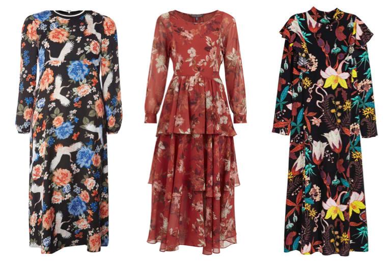 9272f55d1aa Introducing Autumn s It Dress  The Floral Midi