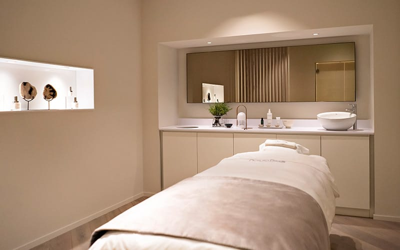 Westfield London Natura Bisse Spa Treatment Room