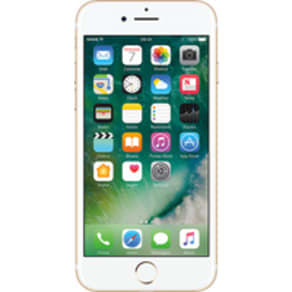 Apple iPhone 7 (32GB Gold Refurbished Grade A) at £499.00 on International SIM with 100MB of 4G data. Extras: Top-up required: £10.