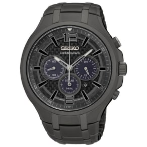 Seiko Conceptual Men's Ion Plated Strap Watch