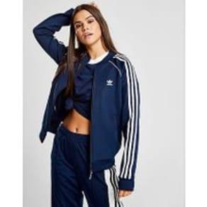 adidas Originals Superstar Track Top - Navy - Womens
