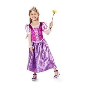 Rapunzel Costume Dress For Kids, Tangled: The Series -  7-8 Years