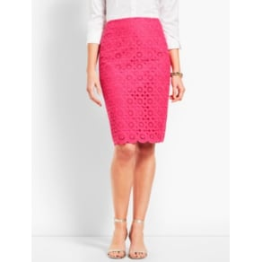 Talbots: Scallop Pencil Skirt