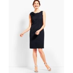f102eca3a Talbots: Jacquard Sheath Dress