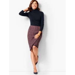 Talbots: Tweed Pencil Skirt
