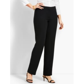 Talbots: Seasonless Crepe Straight Leg: Curvy Fit