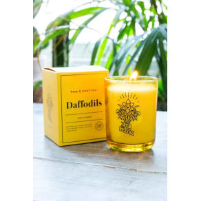 Stop and Smell the Daffodils Candle