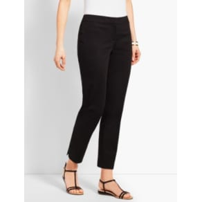 Talbots: Textured Sateen Ankle Pant