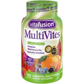 Vitafusion MultiVites Gummies - Berry, Peach & Orange - 150ct