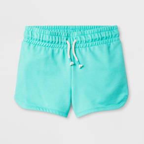 Girls' Pull-on Shorts - Cat & Jack Green XL