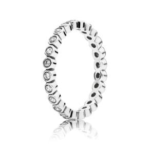 PANDORA Alluring Delicate Brilliant Ring - Sterling Silver