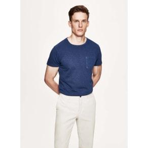 Single Pocket Cotton T-Shirt