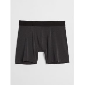 """Gap Mens 5"""" Breathe Boxer Briefs True Black Size M"""