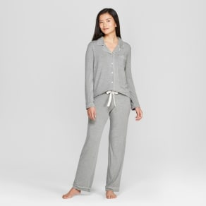 6954f9f2f3b5 Women's Total Comfort Notch Collar Pajama Set ...