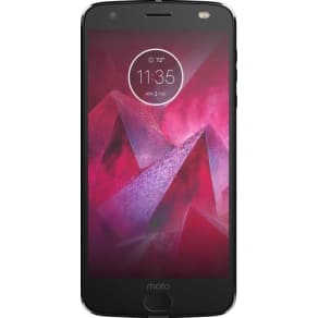 Motorola - Moto Z2 Force Edition 64GB - Super Black (Sprint)