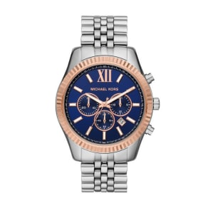 Michael Kors Lexington Men's Two Tone Bracelet Watch