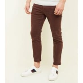 Rust Ankle Grazer Skinny Jeans New Look