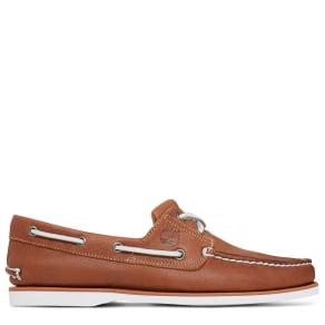 Timberland Men's 2-eye Boat Shoe Brown Brown, Size 10