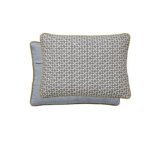 Bedeck of Belfast - Light Blue Linen 'Inca' Cushion