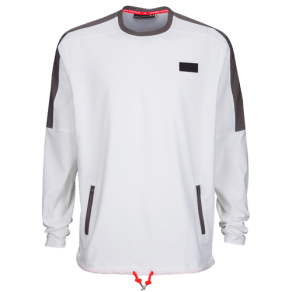 Under Armour Pursuit Wind Shirt - Mens - White/Fresh Clay