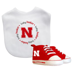 NCAA Nebraska Cornhuskers Bib Set