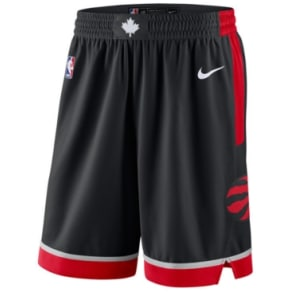 bb9f5d9c0aa Nike Men  039 s Toronto Raptors Statement Swingman Shorts