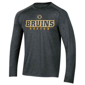 Boston Bruins Men's Goal Scorer Long Sleeve Performance T-Shirt M, Multicolored