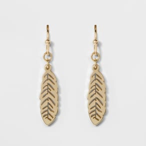 Leaves Earrings - A New Day Gold