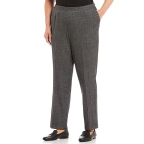 ad379aabb50b2 Allison Daley Plus Size Modern Straight Leg Pull-On Pants
