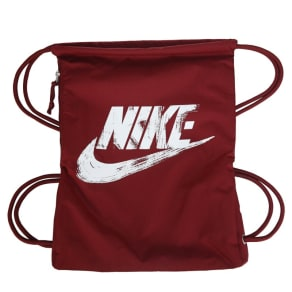 Nike Heritage Drawstring Backpack Accessories (Team Red/White)