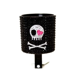 Cruiser Candy Bling Skulls Bicycle Drink Holder