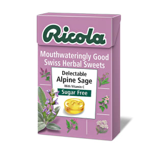 Ricola Swiss Herbal Sweets - Delectable Alpine Sage - Sugar Free 45g - 45g
