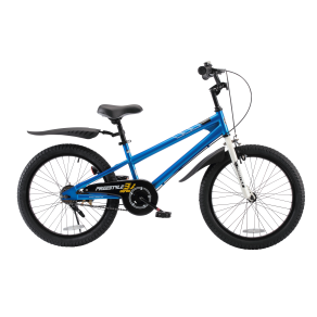 Royalbaby Freestyle Kids Bike, Boy's Bikes and Girl's Bikes, Gifts for Children, 20 Inch Wheels, Blue