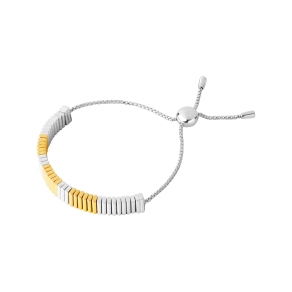 Links of London True Friendship Sterling Silver & 18k Yellow Gold Vermeil Bracelet