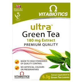 Vitabiotics Ultra Green Tea - 30 Tablets