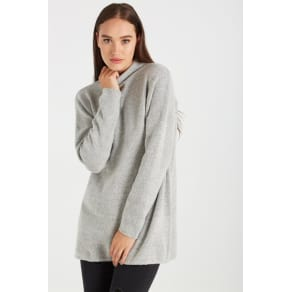 Cotton on Women - Ashlee Sweater Tunic - Grey