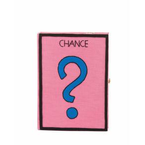 Chance Monopoly Card Box Clutch Bag