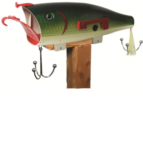 River's Edge Products Giant Bass Lure Mailbox