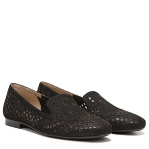 Naturalizer Eve Shoes (Black Leather) - 10.0 M
