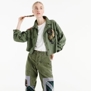 Atelier & Repairs X j.crew Army Jacket